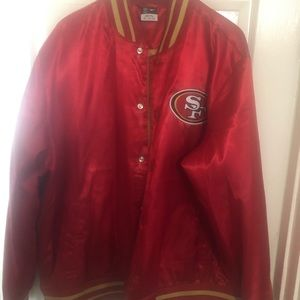 Nike SF 49ers Bomber Jacket XXL Never Worn